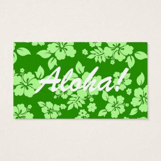 Green Hawaiian Business Card
