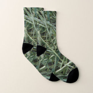 Green Hay 0147 Photo Socks