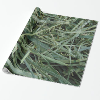 Green Hay 0147 Photo Wrapping Paper