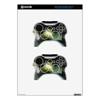 Green hazelnut on the tree in a garden in Tuscany, Xbox 360 Controller Skin