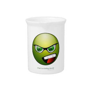 Green Head Drink Pitcher