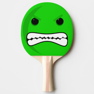 Green Head Ping Pong Paddle