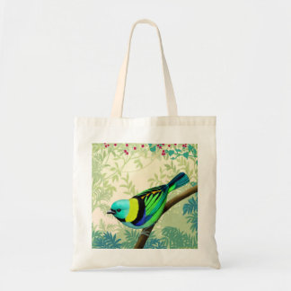 Green Headed Tanager Bird Tote Bag