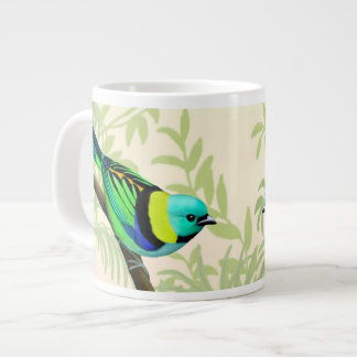 Green Headed Tanager Wild Bird Jumbo Mug