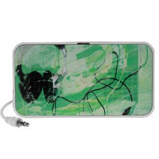 green headfonz notebook speaker
