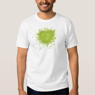 Green Heart and Earth T Shirt