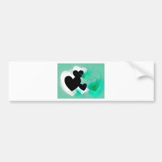 Green Heart Gifts Bumper Sticker