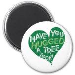 Green Heart (Hug a Tree) Fridge Magnets