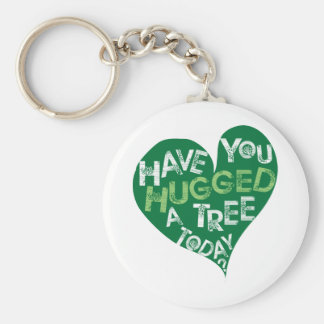 Green Heart (Hug a Tree) Key Chain