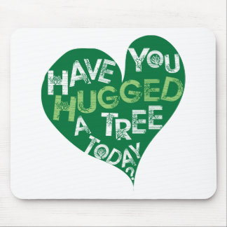 Green Heart (Hug a Tree) Mouse Pad