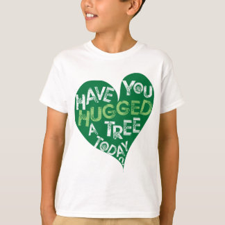 Green Heart (Hug a Tree) T-Shirt