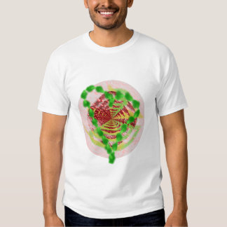 green heart shirt