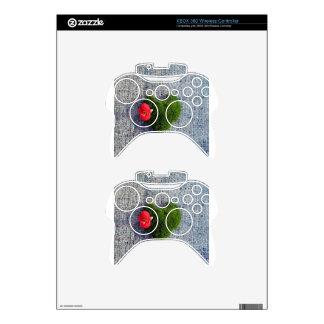 Green heart xbox 360 controller skins