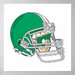Green Helmet Posters