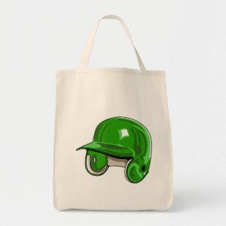 Green Helmet Tote Bag