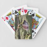Green Heron Bicycle Poker Cards