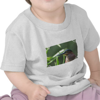 Green Heron Bird T-shirt