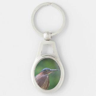 Green Heron Key Chain