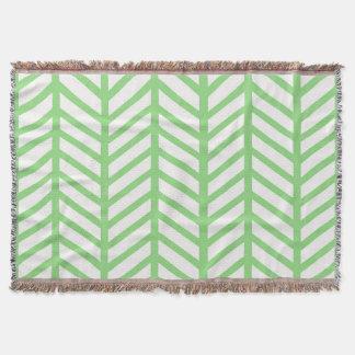 Green Herringbone Throw Blanket. Herringbone Throw Blankets   Zazzle