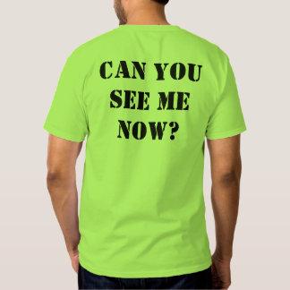 "Green Hi-vis shirt: ""Can you see me now?"" XL Shirt"