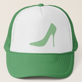 GREEN HIGH HEELS Trucker Hat