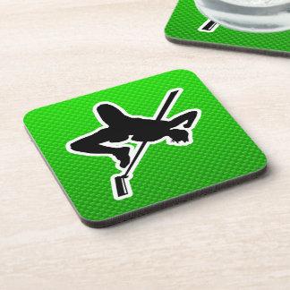 Green High Jump Beverage Coaster