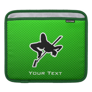 Green High Jump Sleeves For iPads