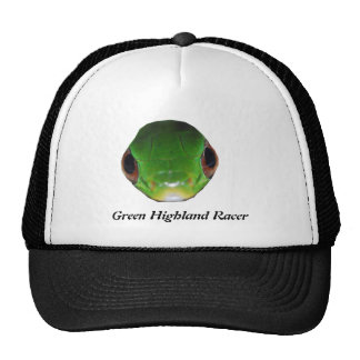 Green Highland Racer Trucker Hat