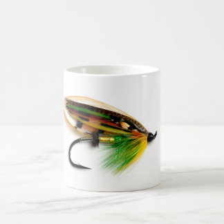 Green Highlander Salmon Fly Mug