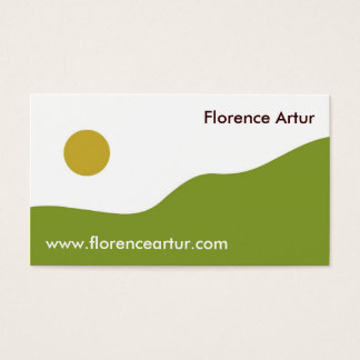 Green Hills 2 Business Card