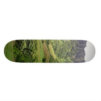 Green Hills and Terrain Custom Skate Board