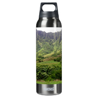 Green Hills and Terrain Thermos Bottle