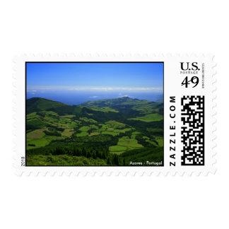 Green hills - Azores islands Postage