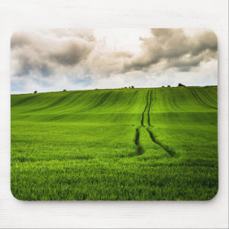 Green Hills Mouse Pad