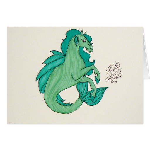 Green Hippocampus Cards