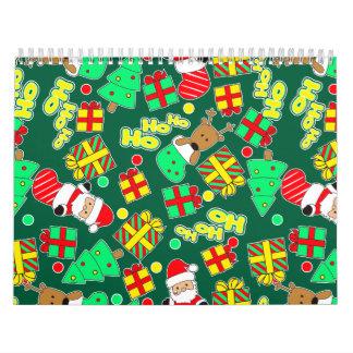 Green - Ho Ho Santa Calendar