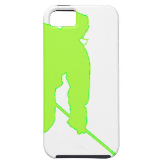 Green Hockey Player iPhone 5 Cover