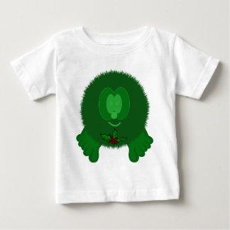Green Holly Tie Pom Pom Pal Baby T-Shirt