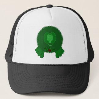 Green Holly Tie Pom Pom Pal Hat