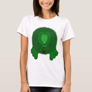 Green Holly Tie Pom Pom Pal T-Shirt