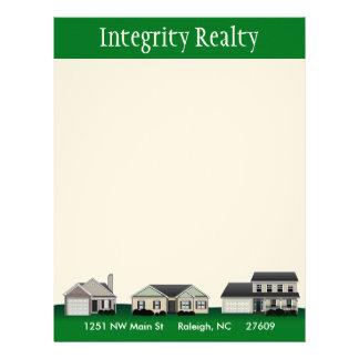 Green Homes Real Estate Letterhead
