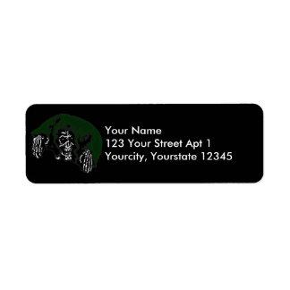 Green Hooded Reaper Label