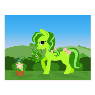 Green Hoof Postcard