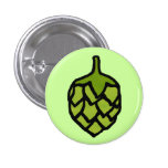 Green Hops Plant Beer Pins
