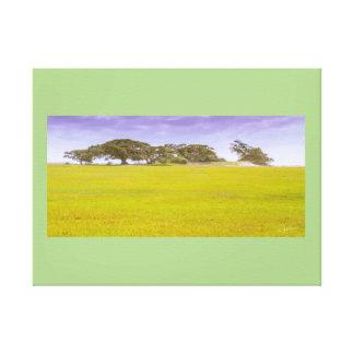 GREEN HORIZON - Canvas print