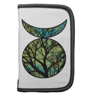 Green Horned God Symbol Folio Planner