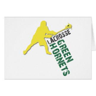 Green Hornet Boys LAX Card