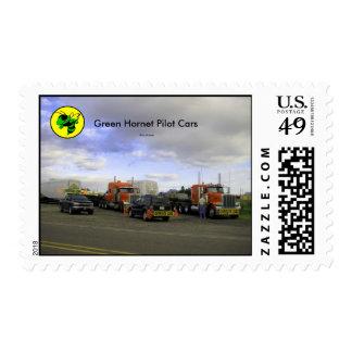 Green Hornet Pilot Cars U.S. Postage Stamps