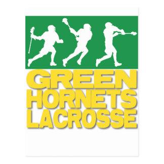 Green Hornets Lacrosse Postcard