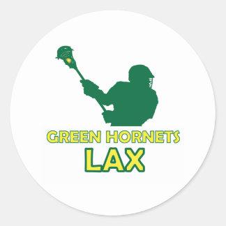 Green Hornets Shot 2 Classic Round Sticker